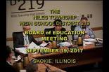 Board of Education Meeting: September 19, 2017